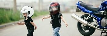 Cómo elegir casco para niños