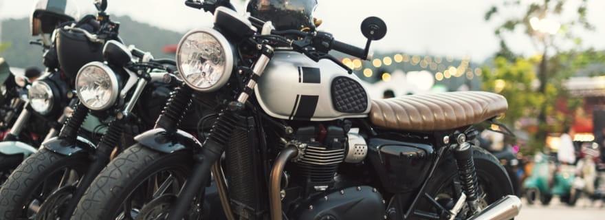 ¿Qué seguro necesita una moto custom?