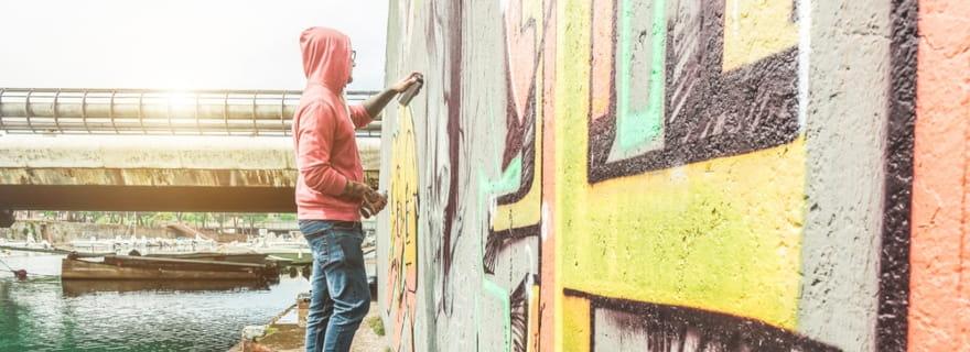 Pintadas y grafitis en el seguro de hogar